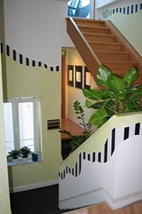 Treppenhaus Wandgestaltung schumacher treppenhaus wandgestaltung